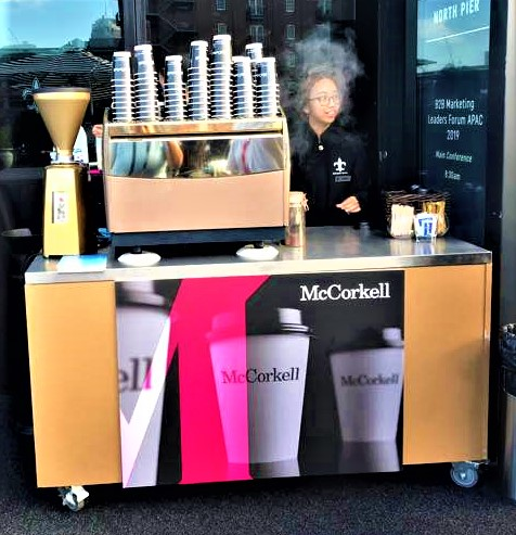 Coffee Cart 1